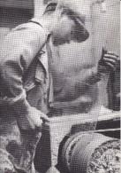 CPM Ouvrier Verrier Manufacture Des Glaces De St Gobain - Chauny Thourotte OISE Photo De F. Kollar Bibliothèque FORNEY - Industrie