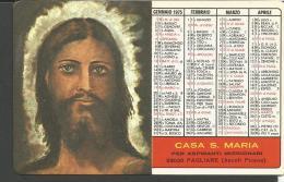 CAL76/77---  ANNO  1975,  CASA  S. MARIA,  PAGLIARE,  ASCOLI PICENO, - Calendari