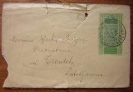 Entier Postal Avec Complément D'affranchissement Au Verso, 1 Centime ! - Alto Senegal E Niger (1904-1921)