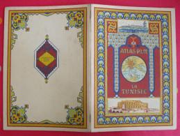 Atlas P.L.M. La Tunisie. Chemins De Fer Paris-lyon-marseille. Vers 1930 - Cultural