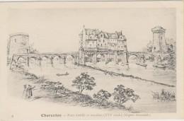 D94 - CHARENTON - PONT FORTIFIE ET MOULINS (XVIe SIECLE) (D'APRES DOCUMENTS) - Charenton Le Pont