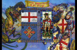 Gibraltar 2003 Miniature Sheet - 1700th Ann. St George - Gibilterra