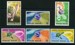 1  SATELLITE FRANCAIS :  POSTE  Y&T  N° 525/530  N D  TIMBRES  NEUFS  SANS  TRACE  DE  CHARNIERE , A  VOIR . - Togo (1960-...)