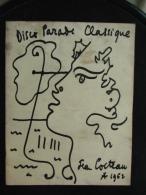 Concert Salle Pleyel (18/02/1963) ORTF & Radio Suisse Normande 150ème Anniversaire WAGNER  -Couvertu. Jean Cocteau - Programmes