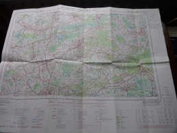 BOOISCHOT - WESTERLO ( Nr. 24 / 3-4 ) Anno 1979 Schaal / Echelle / Scale 1: 25.000 ( Stafkaart : Zie Foto´s ) ! - Other