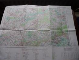BOOISCHOT - WESTERLO ( Nr. 24 / 3-4 ) Anno 1979 Schaal / Echelle / Scale 1: 25.000 ( Stafkaart : Zie Foto´s ) ! - Cartes