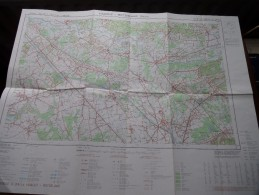 HAACHT - ROTSELAAR ( Nr. 24 / 5-6 ) Anno 1979 Schaal / Echelle / Scale 1: 25.000 ( Stafkaart : Zie Foto´s ) ! - Maps