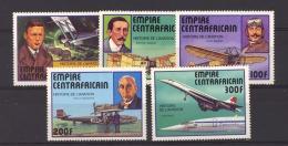 Centrafrique  :  Yv  305-09  **   Avion - Repubblica Centroafricana