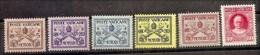 1929 Vaticano Vatican CONCILIAZIONE 5c, 20c, 25c, 30c, 75c, 80c MLH* - Vaticano