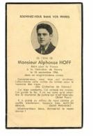 Carte Mortuaire D´un Lorrain De Faulquemont Tué Pendant La Libération De Nancy (FFI) 1944 - 1939-45