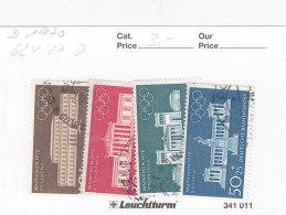 Deutschland Gestempelt Issued - 1970 Nr. 624/27 Olympische Sommerspiele München 1972 - [7] Repubblica Federale