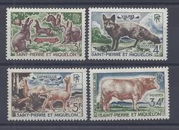 SPM - 1964 - SERIE N° 372 à 375 - XX - MNH - TTB - - St.Pedro Y Miquelon