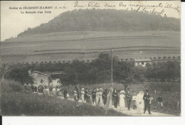 Frecourt-Eulmont   La Descente D'un Train   Avec Cortege D'un Mariage - Autres Communes