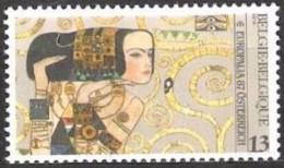 Belgium**Gustav KLIMT –ART NOUVEAU-ART DECO-painter/peintre/schilder- 1987 - Belgium