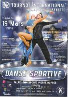 VOLANTINO - 2016 - 32° Tournoi International Maisons-Laffitte - Danse Sportive - Sport