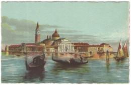 ITALIA - ITALY - ITALIE - VENEZIA - Isola Di S. Giorgio - Non Viaggiata - Venezia