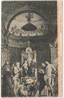 ITALIA - ITALY - ITALIE - VENEZIA - R. Accademia Di Belle Arti - La Vergine Col Figlio In Trono, Ai Lati Vari Santi -... - Venezia