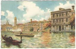 ITALIA - ITALY - ITALIE - VENEZIA - Canal Grande - Palazzo Vendramin (Dove Morì Wagner) - Non Viaggiata - Venezia
