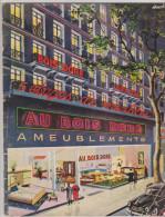 Catalogue Ameublements Au Bois Doré Paris Années 50 - Décoration Intérieure