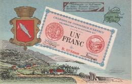 74 - ANNECY - Chambre De Commerce D´Annecy Billet De Nécessité - Annecy