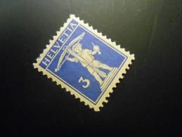CH ZNr.182z  3C*(MLH) - Tellknabe - Papier Geriffelt 1933 - Z CHF 16.00 - Switzerland