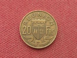 REUNION Monnaie De 20 Frs 1955 - Réunion