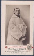 Reliquaire De Marie-Joseph Cassant.Avec Morceau De Tissu.Sainte-Marie-du-Désert Par Bellegarde. - Images Religieuses