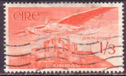 IRELAND 1954 SG #143a 1sh3d Used Airmail - 1949-... Republic Of Ireland