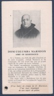 Reliquaire De Dom Columba Marmion.Avec Morceau De Tissu. - Images Religieuses