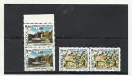 O) 1989 BOLIVIA, AMERICA UPAEP, ARCHAEOLOGY TEMPLE KALASASAYA, INDIAN CULTURE TIAHUANACO METALLURGY, SET MNH - Bolivia