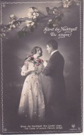 AK Hörst Die Nachtigall Du Singen? - Liebespaar - Vögel Blüten - 1916 (23310) - Paare