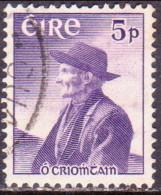 IRELAND 1957 SG #167 5d Used Thomas O'Crohan - 1949-... Republic Of Ireland