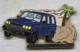 Pin´s Arthus Bertrand - Voiture Automobile Toyota 4x4 - Toyota
