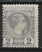 Monaco Mi 2 (*) MNG - Neufs