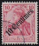 Deutsches  Reich   Turkei         Michel     49             O               Gebraucht  /  Cancelled - Deutsche Post In Der Türkei