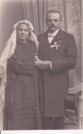 AK Foto Brautpaar - Ca. 1910 (23336) - Noces