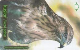 Turkey, N-298, Birds, Red Falcon, 2 Scans. - Turquie