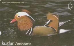 Turkey, N-309, Birds, Mandarin, 2 Scans. - Turquie