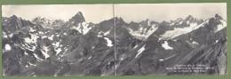 CPSM 2 Volets - SUISSE - VALAIS - Panorama Pris Du Télésiège Grand Saint Bernard - Chaine Du Mont Blanc - Orta /2690 - VS Valais