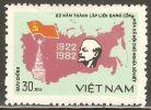 Vietnam 1982 Mi# 1284 (*) Mint No Gum - Founding Of Soviet Union, 60th Anniv. / Lenin - Viêt-Nam