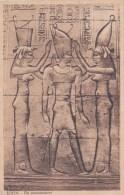 EDFOU COURONNEMENT ROI GRAVURE HIEROGLYPHE EGYPTE AFRIQUE - Egypt