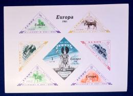 Gran Bretagna - Lundy 1961 Sheet Europa **/ MNH VF - Local Issues