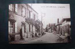 ZZ - 51 - LOISY EN BRIE - Le Quartier Bas -  Animée - Francia