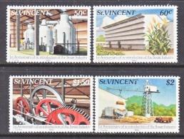 ST.  VINCENT  639-42   **   SUGAR  INDUSTRY - Fabbriche E Imprese