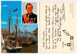 1) AK Jan Baptist Leo Piers Burgemeester Bürgermeister Oostende België CVP 1976 Belgium Belgique Belgio Bélgica C.V.P. - Personnages