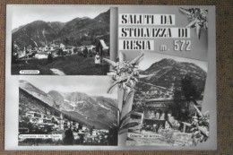 STOLVIZZA DI RESIA  -   VEDUTE  1957   -   BELLA - Italia