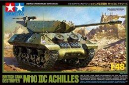 British Tank Destroyer M10 IIC Achilles 1/48 (  Tamiya ) - Military Vehicles