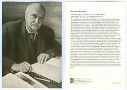 AK Hermann Duncker Hamburg Bernau Spartakusbund KPD DDR GDR SED Deutschland Politik Fritz Heckert Hamburg Politiker CP - Persönlichkeiten