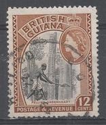British Guiana 1954. Scott #260 (U) Felling Greenheart Tree - British Guiana (...-1966)