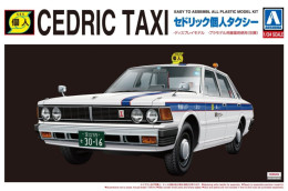 Nissan Cedric Taxi 1/24 (  Aoshima ) - Cars
